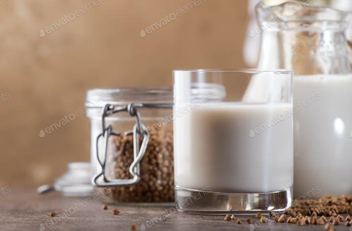 Vegan Buckwheat milk