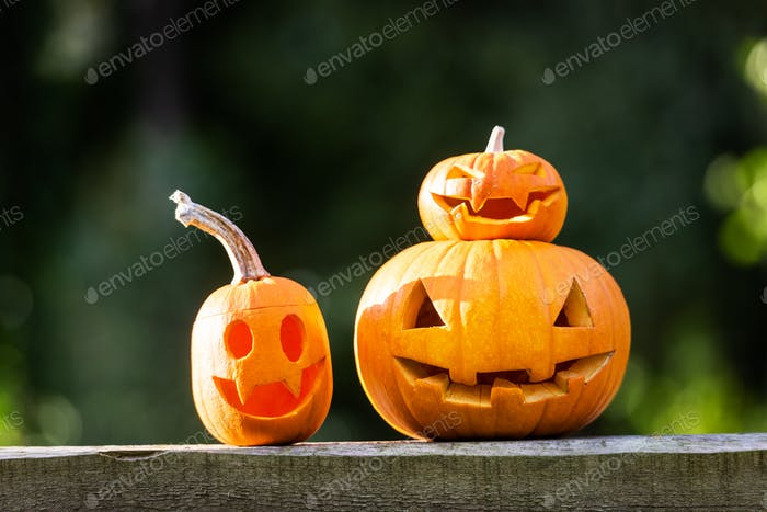 Halloween carving concept