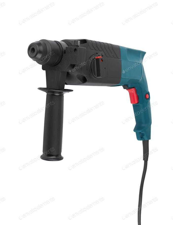 electric drill with handle