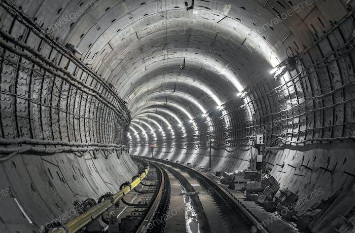 Unterirdischer Tunnel