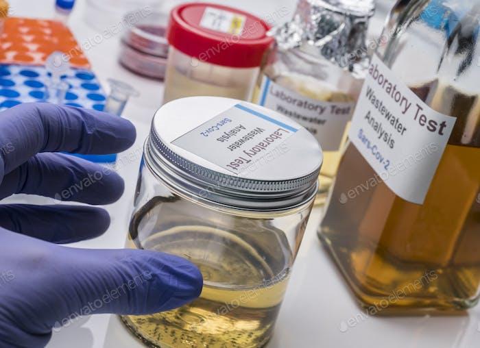 Wastewater samples, analysis of sars-cov-2 virus