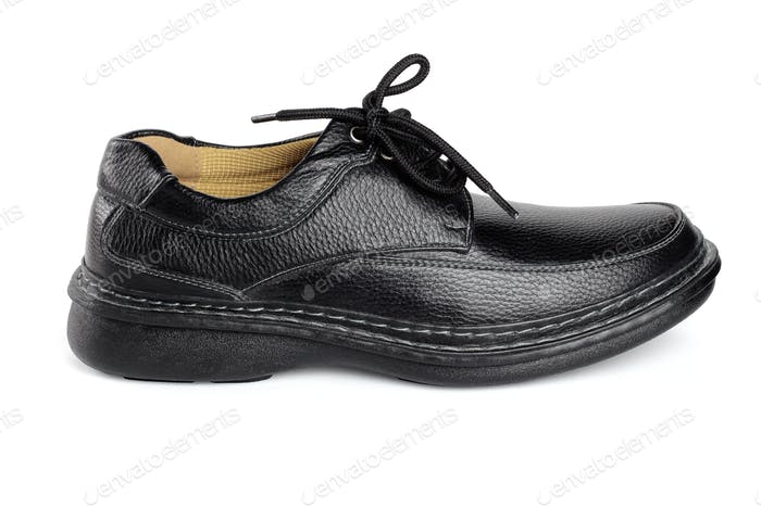Black Leather Shoe