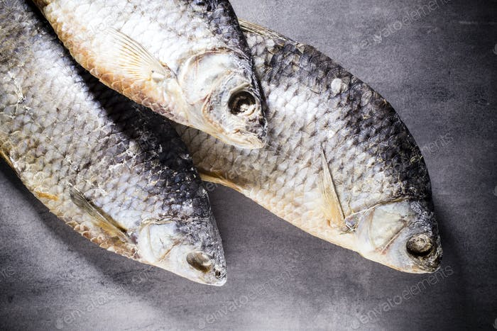 Salt fish.