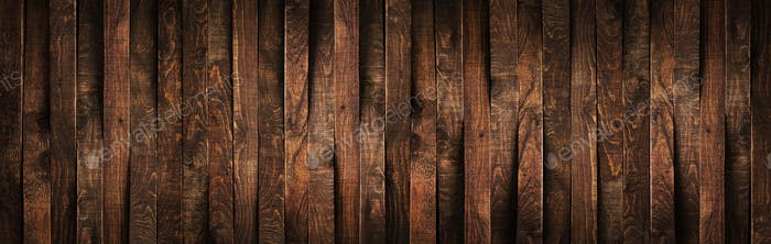 Wooden rustic brown planks texture vertical background