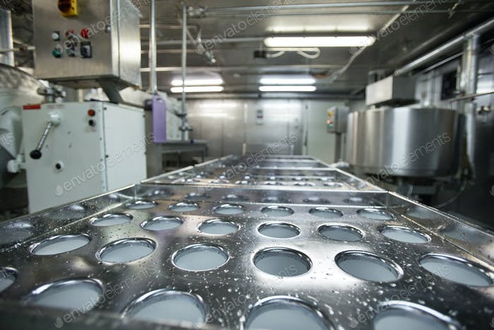 Conveyor at Food Factory