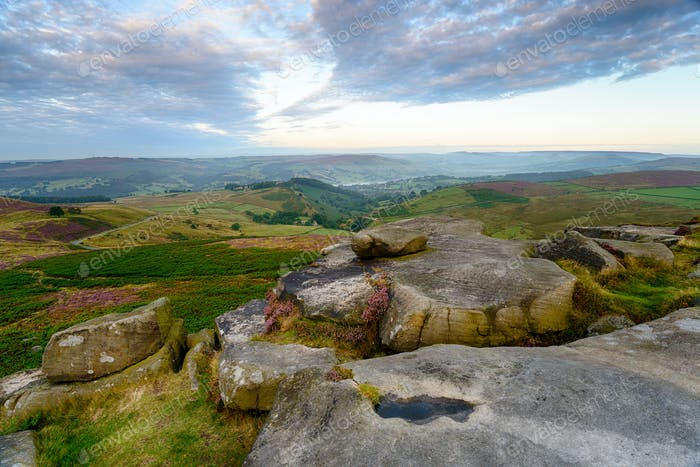Dawn At Higger Tor