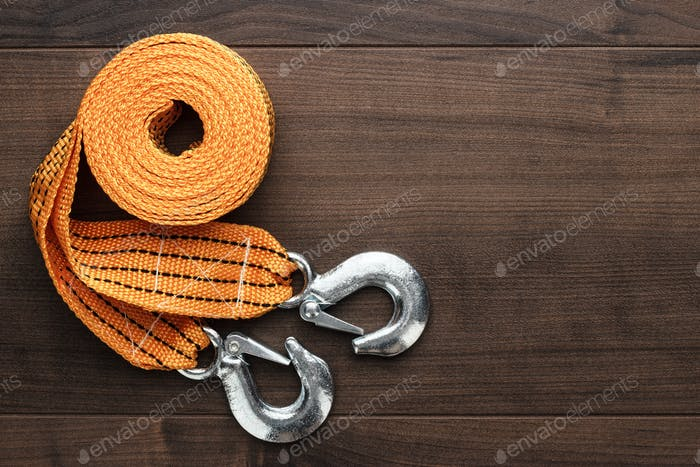 Towing Rope On The Table