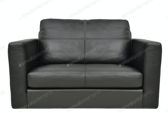 business leather armchair