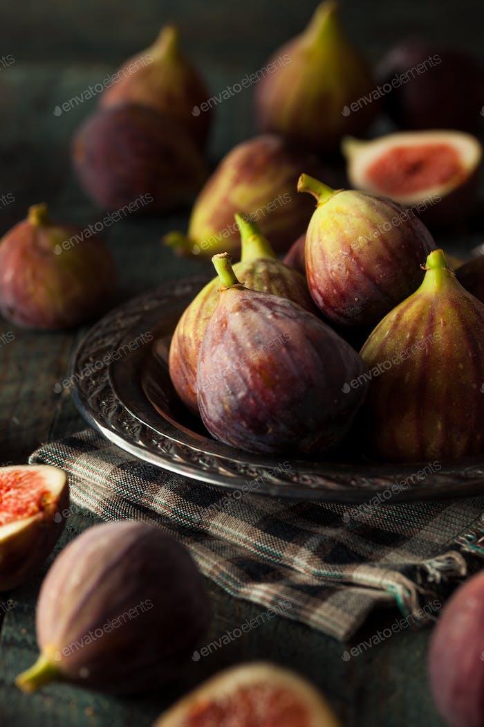 Raw Organic Brown Figs