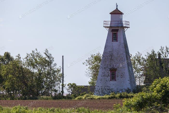 Leards Rear Range Lighthouse on Prince Edward Island