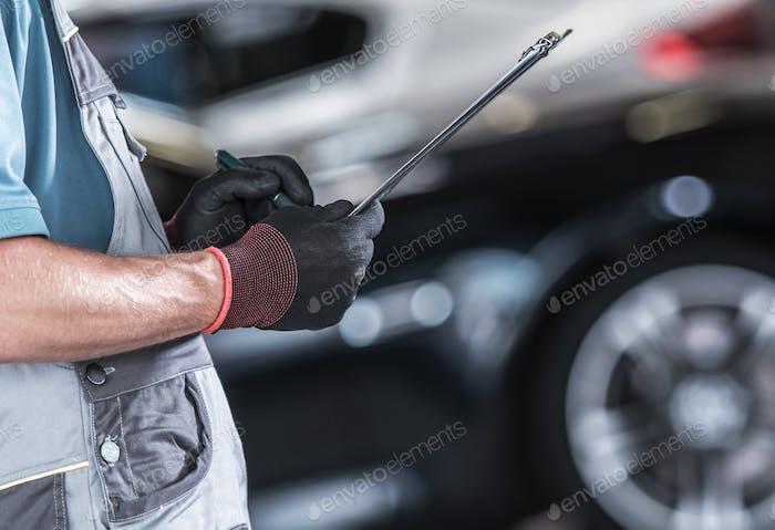 Dokumentation für Mitarbeiter in der Automobilindustrie