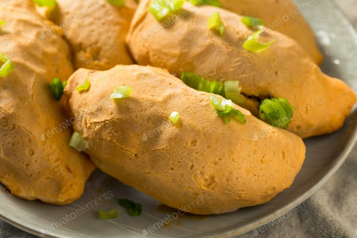 Homemade Cheesy Beef Cassava Empanadas