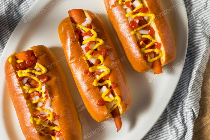 Homemade Vegan Carrot Hot Dogs