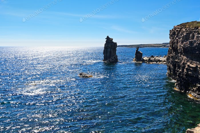 Le Colonne - San Pietro island