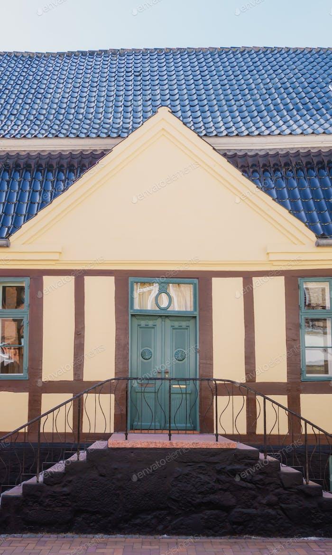 Old house in Denmark