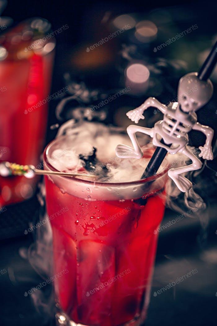 Halloween festive drink