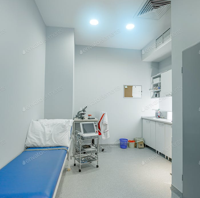Modern consulting room