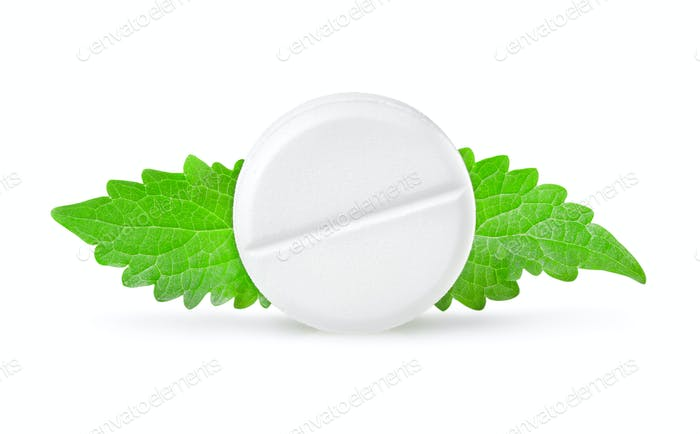Aspirin with mint