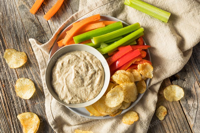 Homemade Carmelized Onion Dip