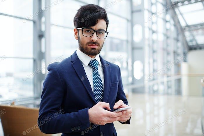 Serious employer