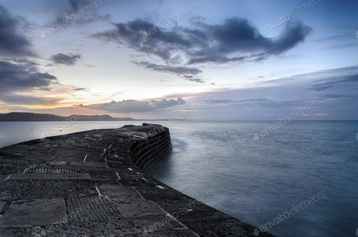 The Cobb at Lyme Regis