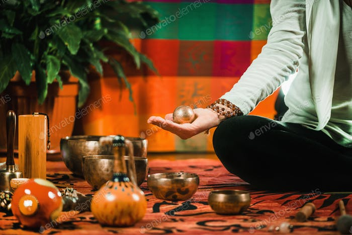 Meditation Ball in sound therapy