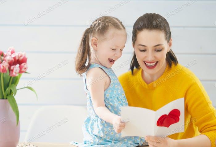 Glücklicher Muttertag