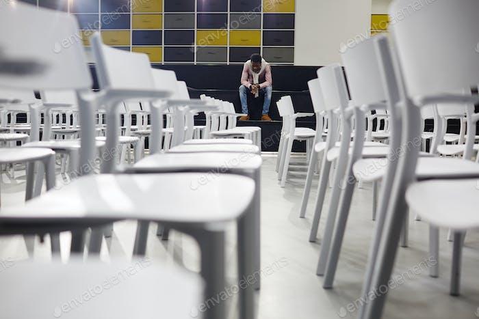 Vor der Prüfung
