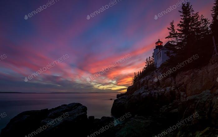 Bass Harbor Lighthouse in Acadia National Park