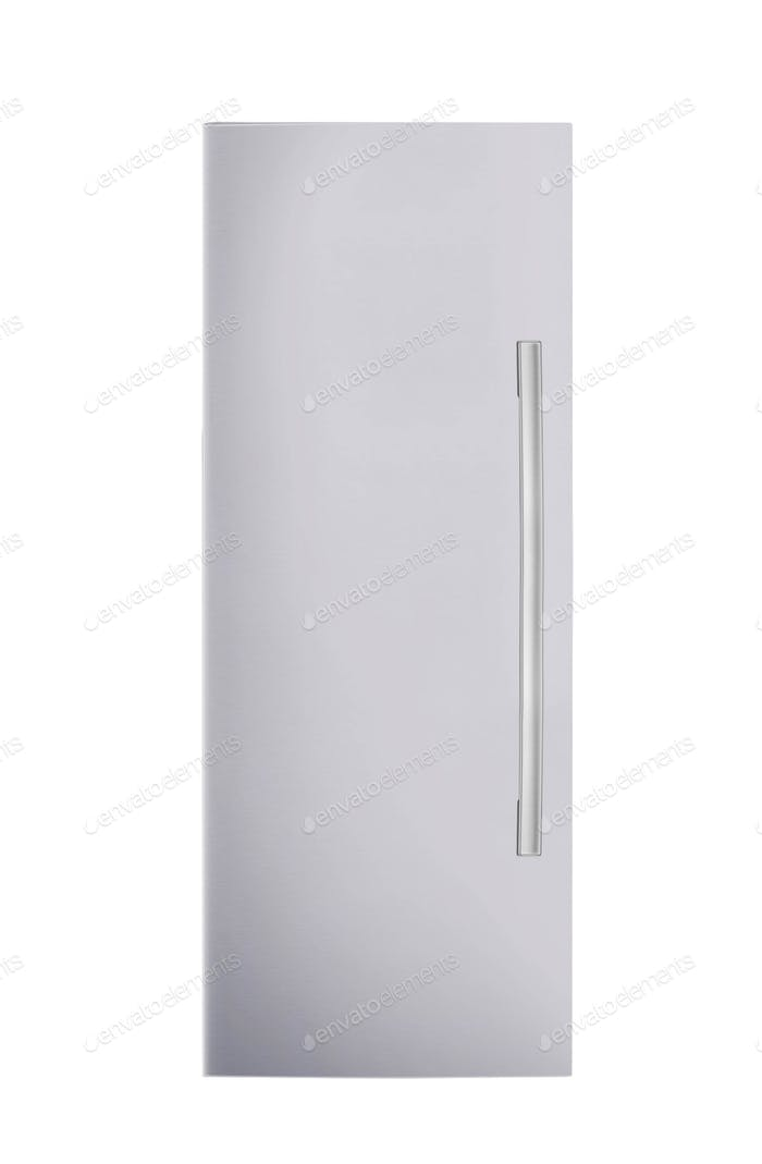 fridge freezer isolated on white background