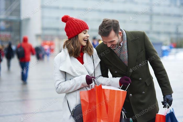 Erfolgreiches Einkaufen im Einkaufszentrum