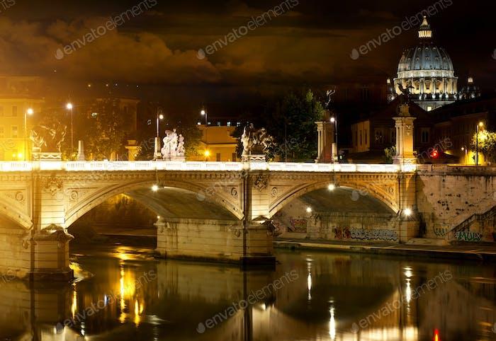 Brücke Vittorio Emanuele und Vatikan