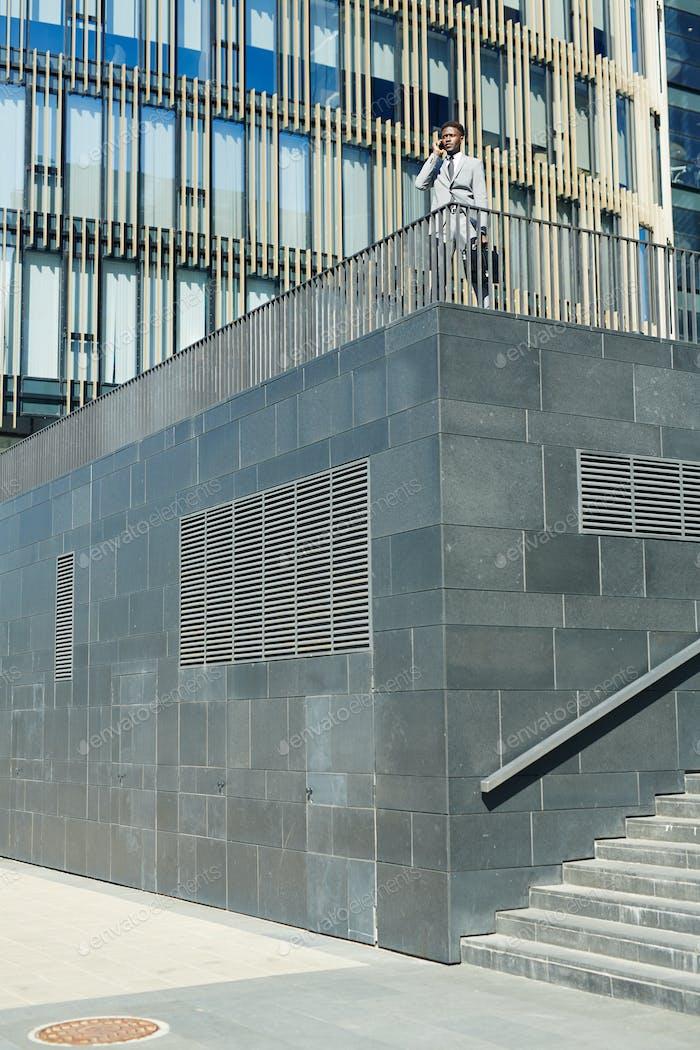 Part of modern city