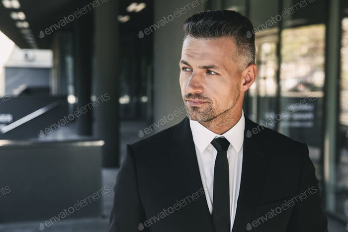 Portrait of a handsome young businessman