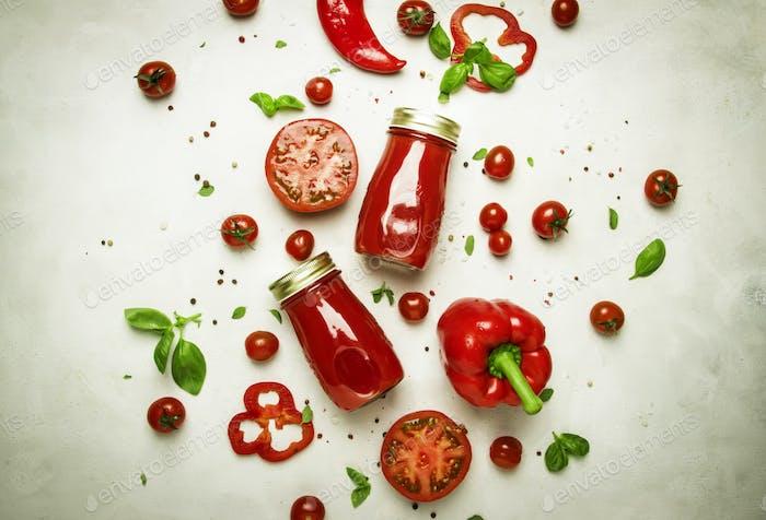 Würzige Tomaten-Smoothies