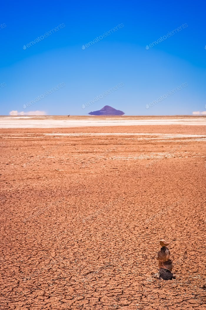 Drought in Altiplano in bolivia