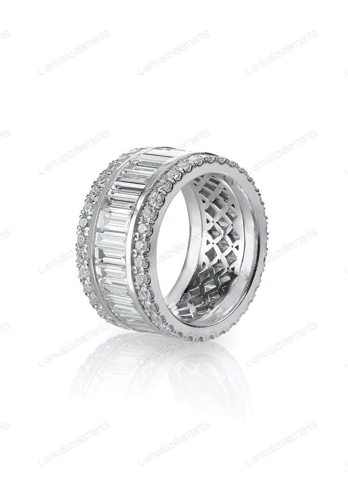 Diamantgold Ehering Verlobungsring