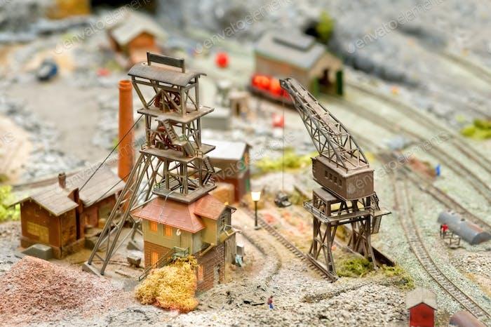 model coal mine