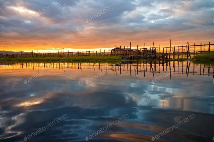 Haus am Inle-See, Myanmar