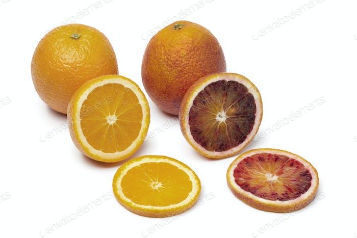Naranja y naranja sangre