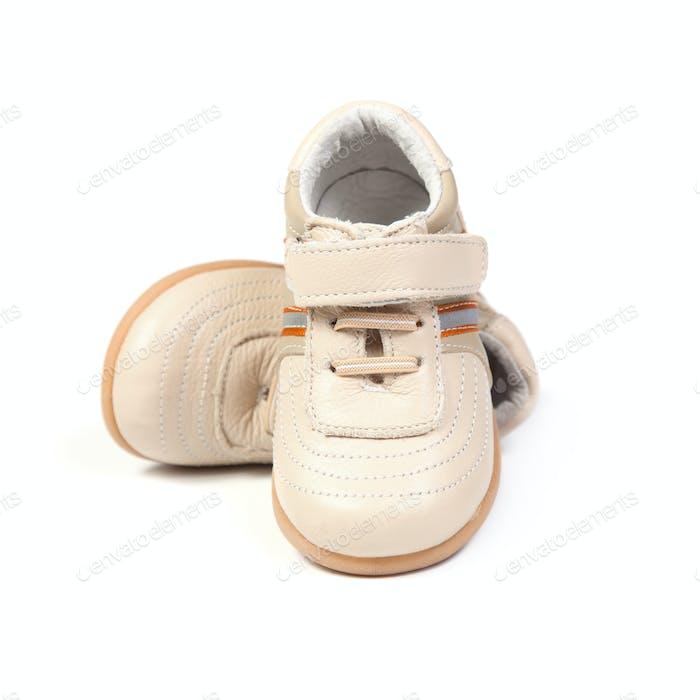 Children's shoes.