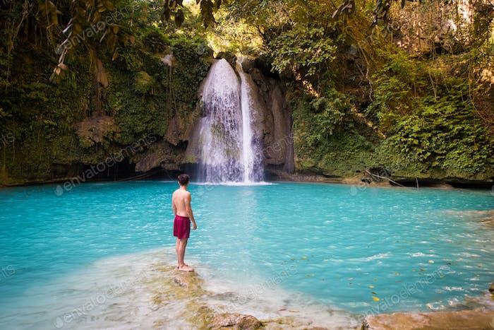 Kawasan Falls in Cebu, Philippinen