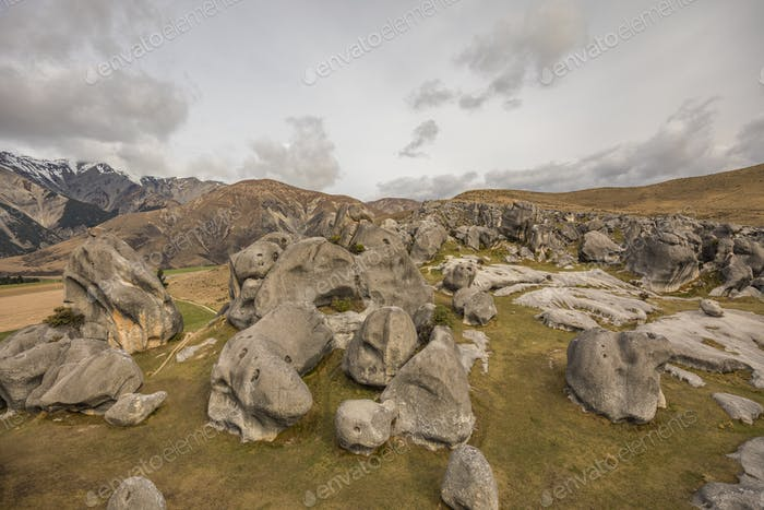 The Castle Hill Conservation Area or  Kura Tawhiti, Arthur's pas