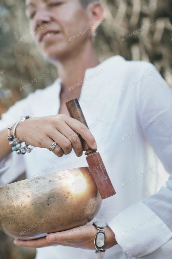 Sound Healing, Tibetan Singing Bowl