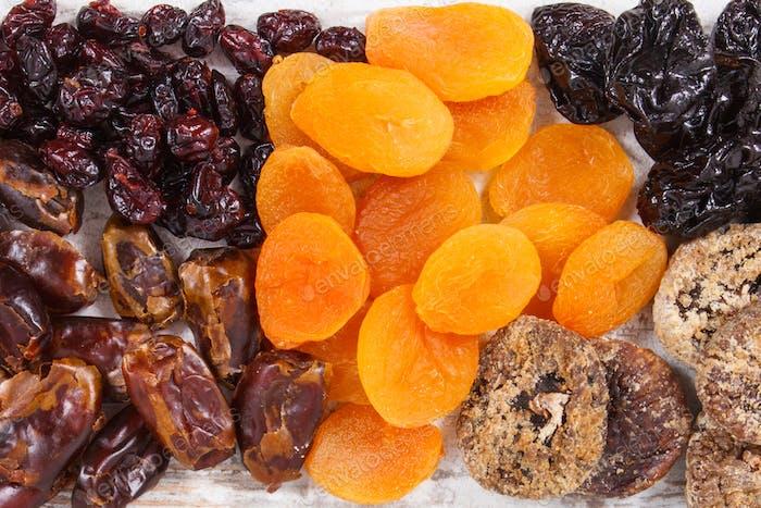 Inhaltsstoffe, die natürliche Mineralien, Vitamine und Ballaststoffe enthalten