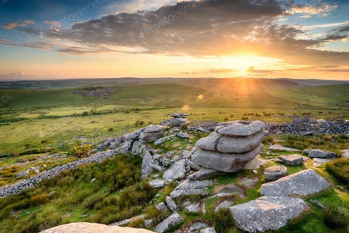 Bodmin Moor in Cornwall