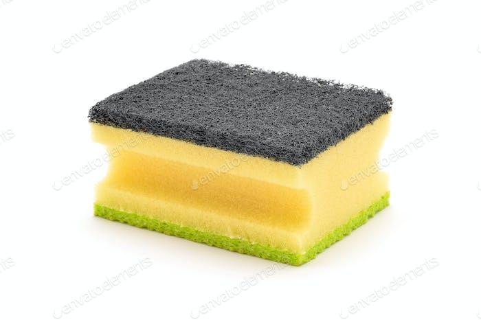 dish clean sponge