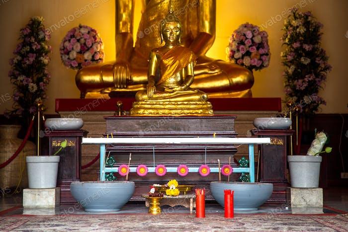 ein Platz für ein buddhistisches Ritual