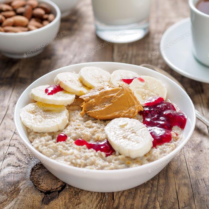 Healthy Breakfast in the morning