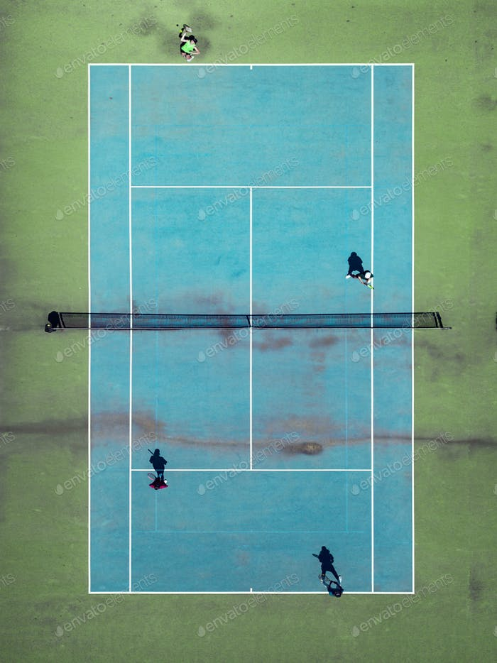 Tennis from Above